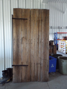 100 Year Old Barn Door