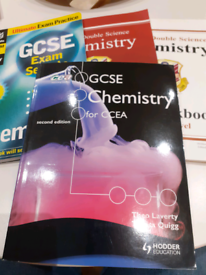 CCEA GCSE revision guide for chemistry.