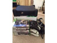 Xbox 360 4gb bundle with 10 games