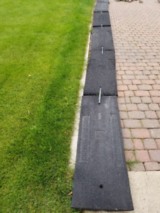 Lightly Used Curb Ramps