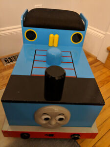 Thomas the Tank Engine toybox/bench. Discontinued/Rare.
