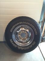Like New 235/75R15 Tire + Rim!! FIRST OFFER TAKES IT!!!