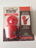 Brand New Refillable filter cup for most Keurig K-Cup Brewers