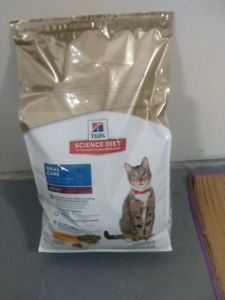 Sac nourritures pour chat. Hill's Oral care (chat adulte)