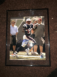 Autographed Photos of New England Patriots and Boston Red Sox
