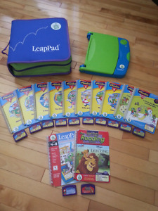 Leap Frog: LeapPad Learning system.