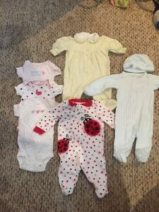 Newborn lot of girl clothes