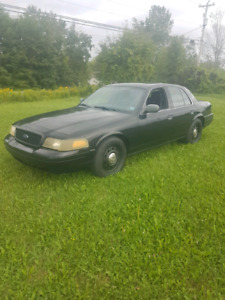 2008 Crown Vic Police Interceptor