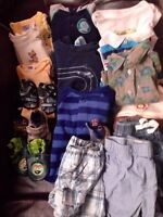 21 Piece Baby Boy 0-3 Month Lot