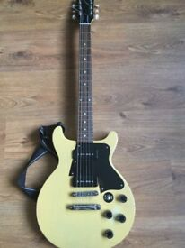 2005 Gibson Les Paul Double Cut Special Faded TV Yellow