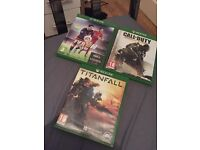 3 games for Xbox one