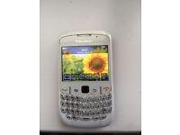 White blackberry curve