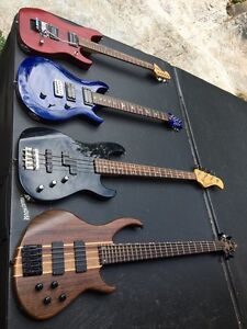 Guitars and basses