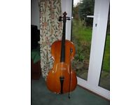Cello 3/4 size good excellent condition