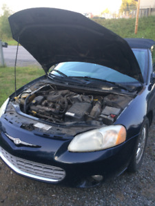 Chrysler sebring décapotable limited 2002