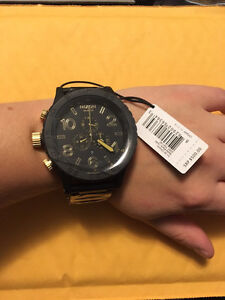 Nixon 51-30 Chrono Matte Black/Gold Watch