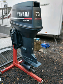 Outboard engine Yamaha 70hp 2 stroke