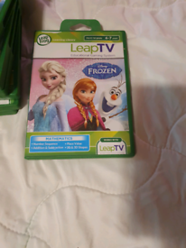 Leap tv console and 7 games
