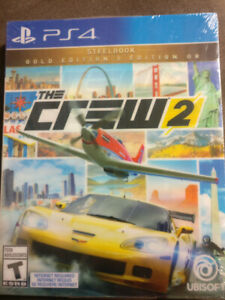 The Crew 2 Gold Edition (Steelbook) - BNIB - PS4