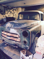 1955 Dodge Pick-up Dually-Needs Restoration-All there