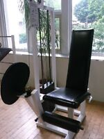 extention jambe (leg extention) et Bench commercial