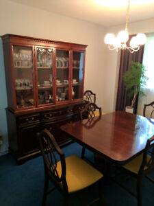 Solid Mahogany 10 Piece Dining Room Set