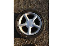 """X1 ford 16"""" alloy Sierra escort fiesta wheel tyre ronal"""
