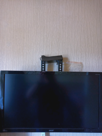 Acer 4k 24 inch monitor with stand