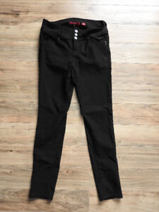 Black stretchy pants (fit medium-large) worn only $5 times!
