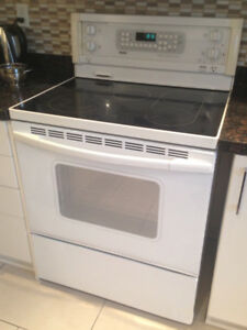 Kitchen appliances - stove - dishwasher - fridge - microwave