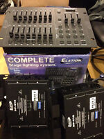 Elation Stage PAK1, include 3x DP-415, stage light control