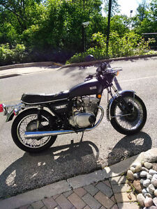 Vintage 1975 Yamaha xs500 Make an amazing cafe or brat!