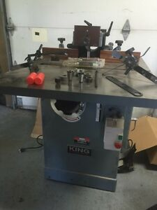 SHAPER KING INDUSTRIEL KC351S 3HP 220V