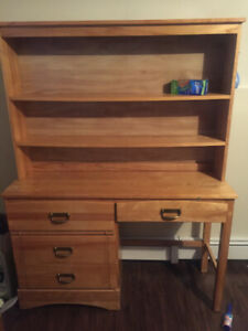 Bookshelf / desk and chair! Pick up only