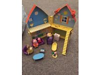 Peppa pig house and extras