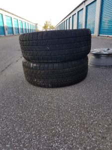 275 55 20 , goodyear, over 95 % tread depth, pair of 2 for sale