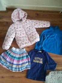 Girls 4 years clothing