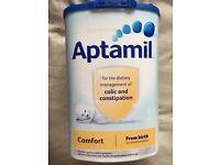 Aptamil colic & constipation milk