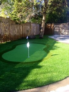 Synthetic Lawn Turf Installed by the Pros