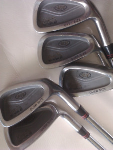 Golf Club iron set (KING SNAKE) 5pc oversize