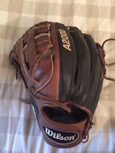 Almost brand new Wilson A2000 DW5 pro stock