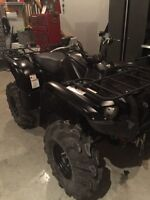 Yamaha grizzly 700 special edition