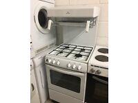 White Newworld Eye Level Grill Gas Cooker Like New Just £95 Sittingbourne