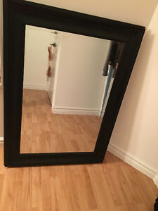 Dark Hardwood Mirror