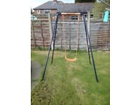 Childs garden swing
