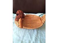 Handmade Duck Basket