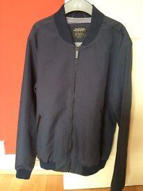Navy men's bomber jacket