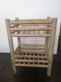 Low Bamboo Rack
