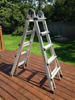 World's Greatest 5-in-1 Multifunctional Ladder System