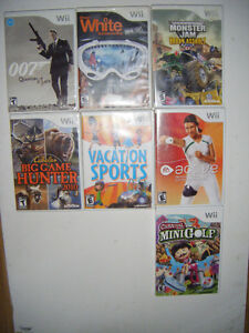 14 Wii Games for sale